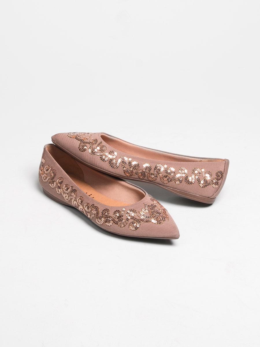 Sapatilha Fendi Bronze 375066