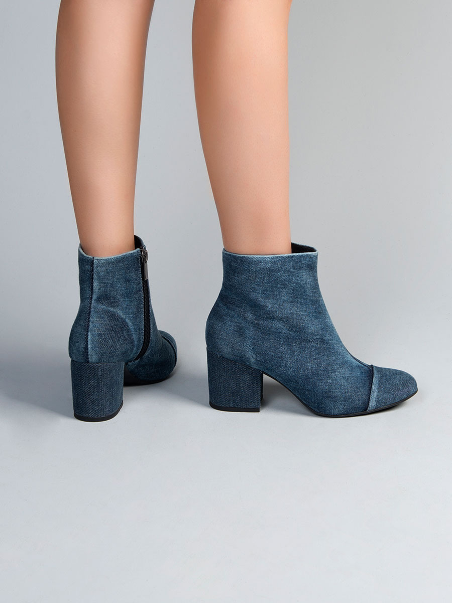 Bota Jeans Salto Grosso 452011